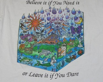 Grateful Dead T Shirt ... Box of Rain ... early 90's Lot Shirt