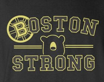 Popular items for boston redsox on etsy for Boston bruins bear t shirt