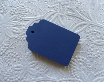 25 Navy Blue Gift Tags-50-100-Hang Tags-Price Tags-Blank-Nautical Theme