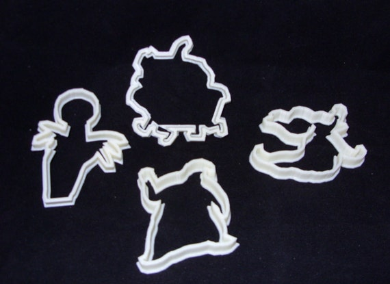 nightmare before xmas cookie cutter set