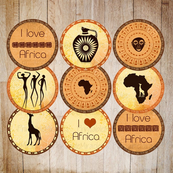 Unavailable listing on etsy for African party decoration ideas