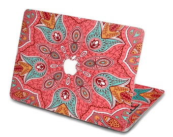 Back cover of decal Macbook Air Sticker Macbook Air Decal Macbook Pro Decal 中国团花