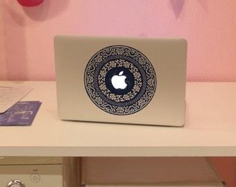 Decal Macbook Air Sticker Macbook Air Decal Macbook Pro Decal 大清花