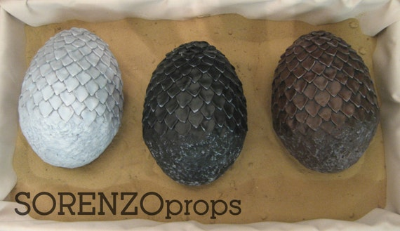 Game of Thrones - Dragon Egg - Prop Replica Kit
