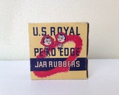 Vintage U.S.Royal PE-KO Edge Jar Rubbers