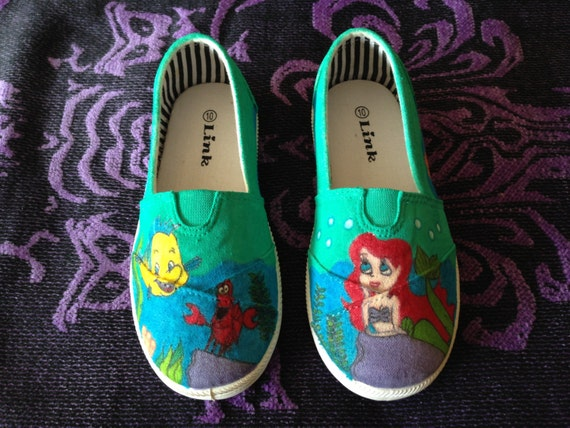 Little mermaid shoes kids