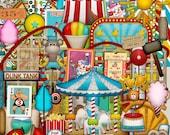 Coasters & Cotton Candy Mega Kit