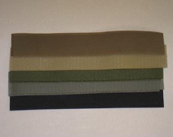 2x12 Inch Sew-On Velcro Strips (Hook & Loop)