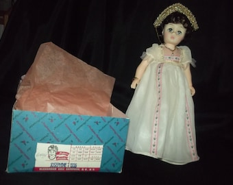 "Collectible 12"" Madame Alexander doll set/ Napoleon and Josephine"