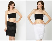 SALE Ruffle Slip Combo Pack - Black and White