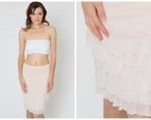 Blush Ruffle Slip Dress Extender - All Sizes