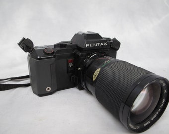 Pentax A3000 AFAF with 28mm lens / 35mm Film Camera SLR / 28-85mm Lens / Clean / Serviced / Tested / Student . Birdwatching