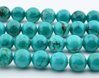 10MM   Green Turquoise  round loose beads