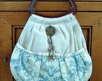 Vintage style handbag.