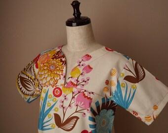 Anna Maria Honer Lou Lou Thi Summer Totem Scrub Top made-to-order
