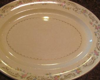 Paden city pottery serving platter