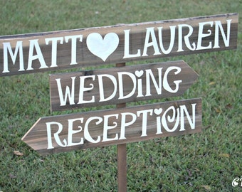 Wedding Reception Sign, Wedding Reception Decor, Wedding Reception Decorations, Rustic Wedding Signage, Rustic Wood Wedding Signs, Outdoor