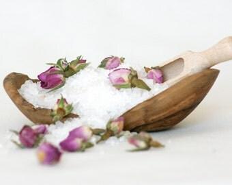 Uplifting and Soothing- Rose, Ylang Ylang & Grapefruit Dead Sea Bath Salts