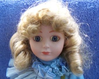 Porcelain doll for adoption - Melanie