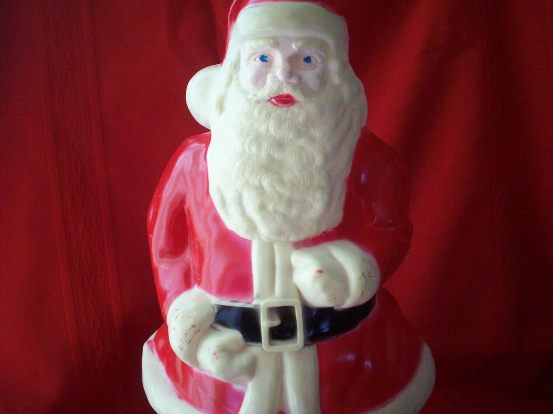 Vintage light up santa claus