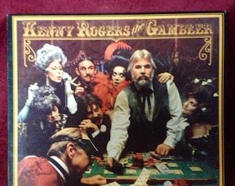 1978 THE GAMBLER Kenny Rogers LP Record