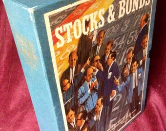 Vintage Game - 1964 Stocks and Bonds Board Game