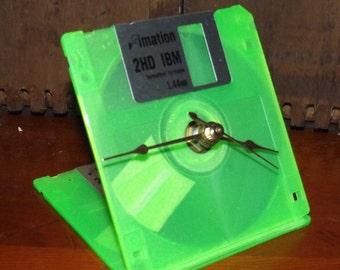Floppy Disk Clock