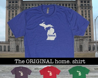 Michigan Home shirt Men's/Unisex