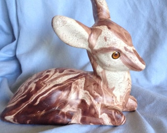 Vintage Deer figurine Colorado Pinescent Pottery