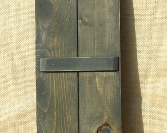 "Decorative wood shutters.  46"" high and 11"" wide, Made to order size or color."