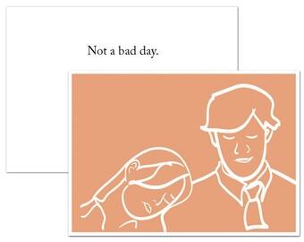 Printable Jim and Pam Greeting Card, Stationary, Valentine