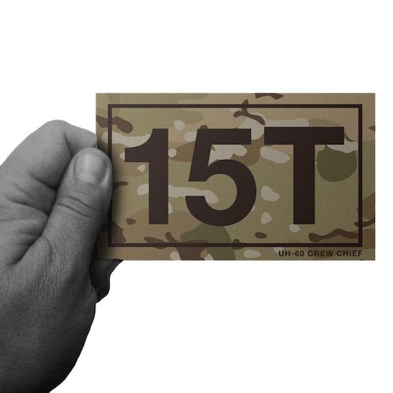 Items similar to Multicam 15T Army UH 60 Blackhawk Crew Chief ...