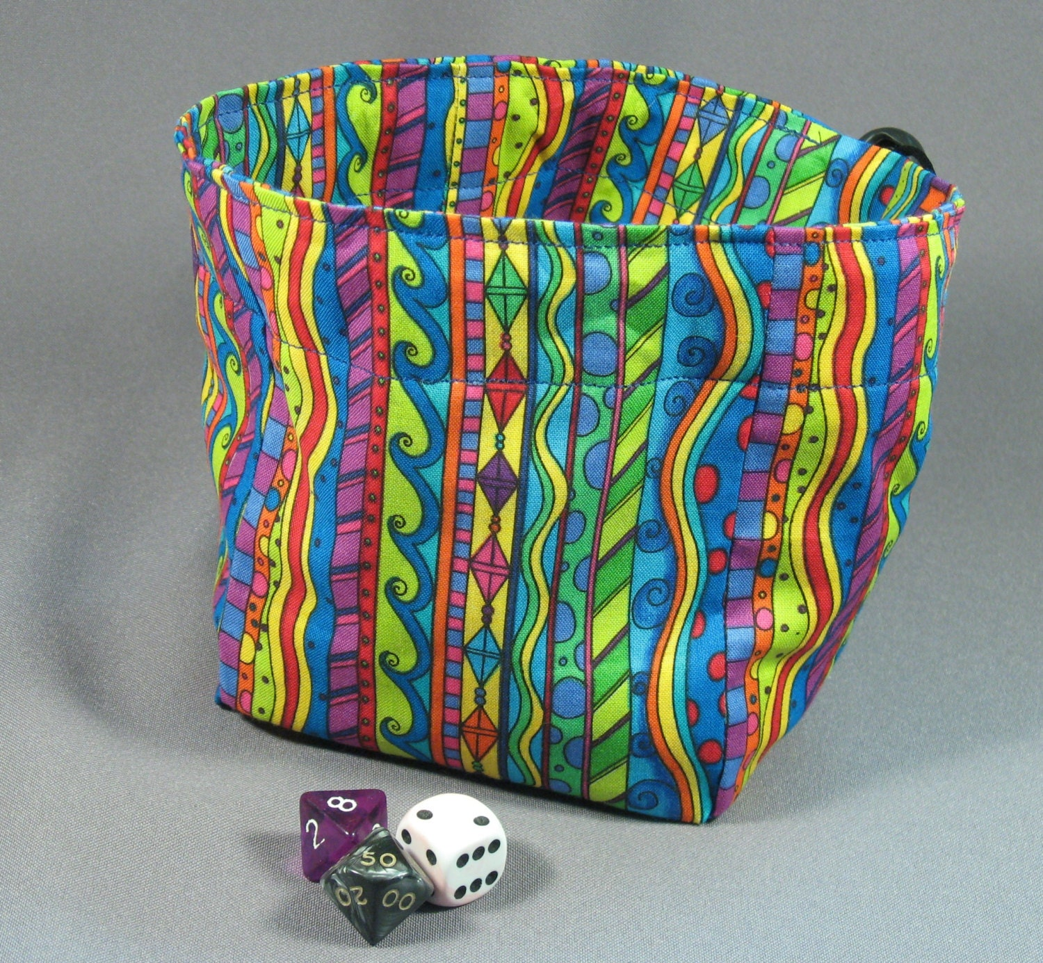 It is a photo of Fabulous Dice Bag Printable Pattern