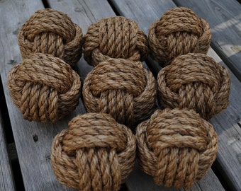 8 Nautical Knot Table Number Holders