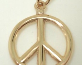 3-D Peace Sign Charm (JC-610)