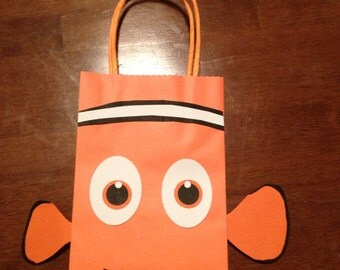 Finding nemo inspired party favor bags