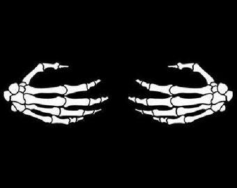 Skeleton Hand Etsy