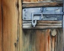 Old Door in Hobart