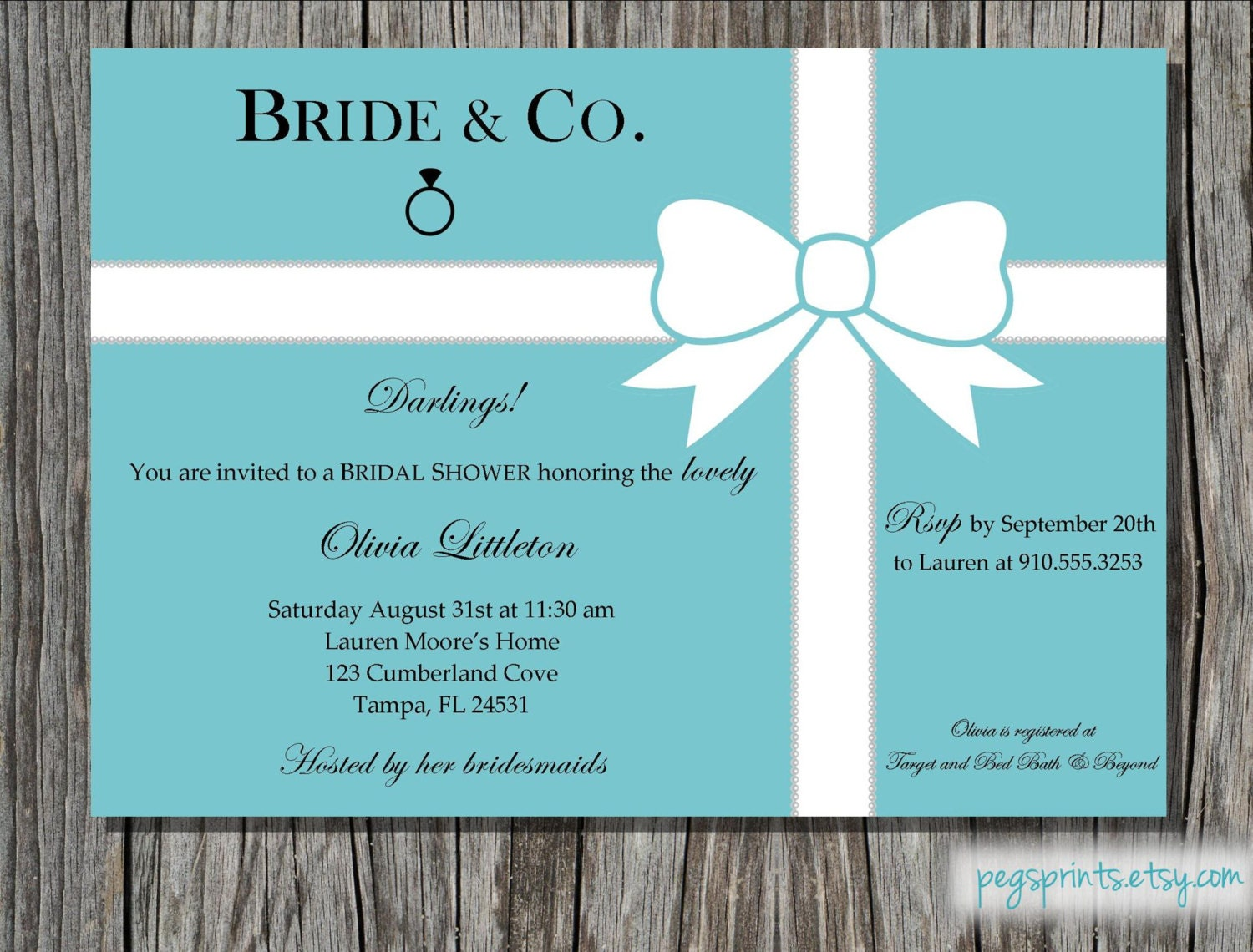 Bridal Shower Invitations Bridal Shower Invitations Breakfast At
