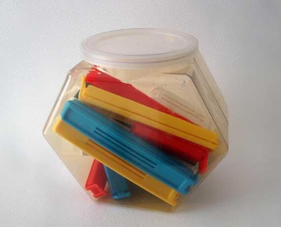 vintage chip bag food sealer twixit
