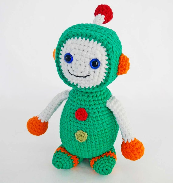Crochet Toys For Boys : Amigurumi pattern for crochet toy robot by