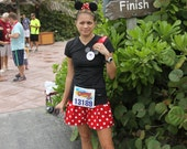 Minnie Mouse Inspired Running skirt.