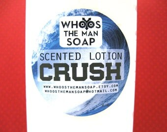 Crush Lotion Handmade Men's 4oz