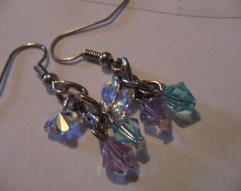 Butterfly swarovski Crystal Earrings