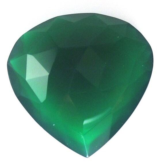 Green Onyx Hydro Fancy Cut 22x22mm Sale By Best In Gems