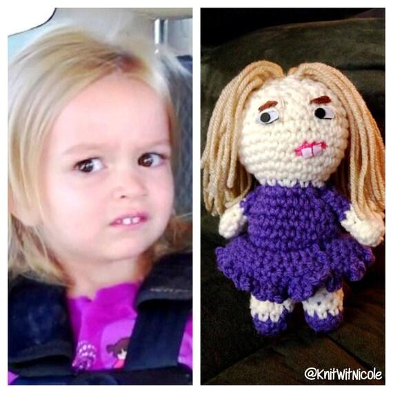 Chloe Disneyland Crochet Doll