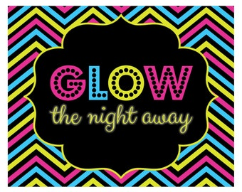 Glow In Dark Party Invitations is adorable invitation layout
