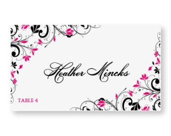 place card template microsoft word .