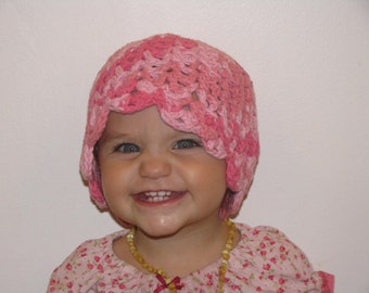 Toddler Crochet Cloche