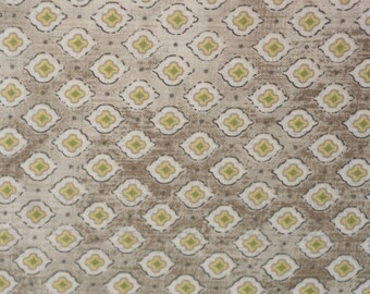 CLEARANCE - Chamberry Quatra Dot Tan from ADORNit, 1/2 yard